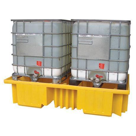 Double IBC Sump Pallet - without grid