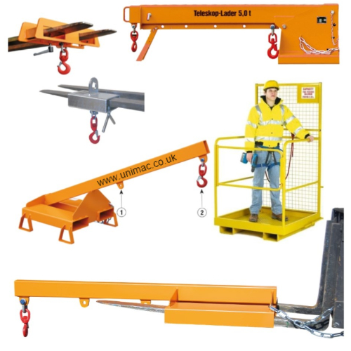 Forklift Hooks & Lifting Attachments