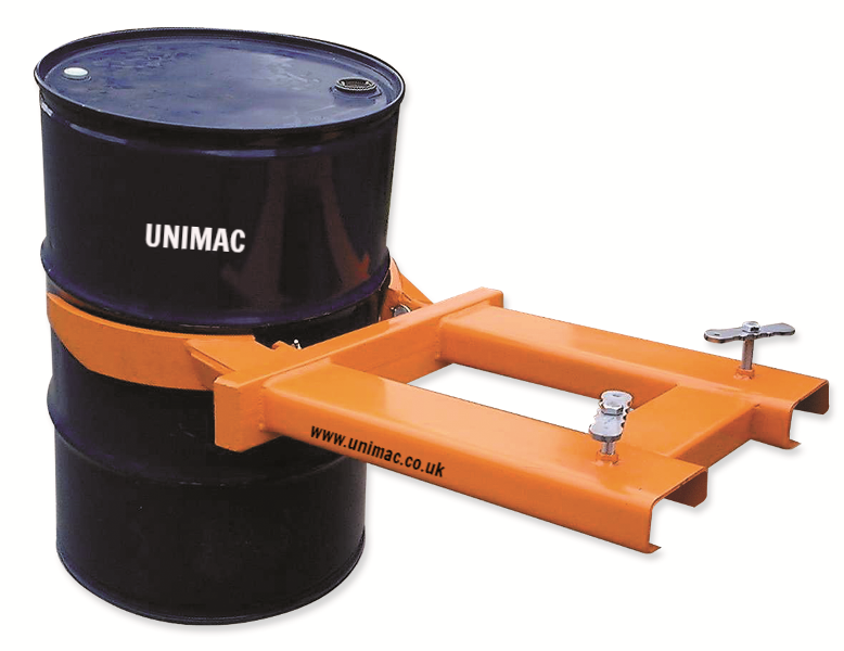 Forklift Drum Lifter Attachment. Type DL
