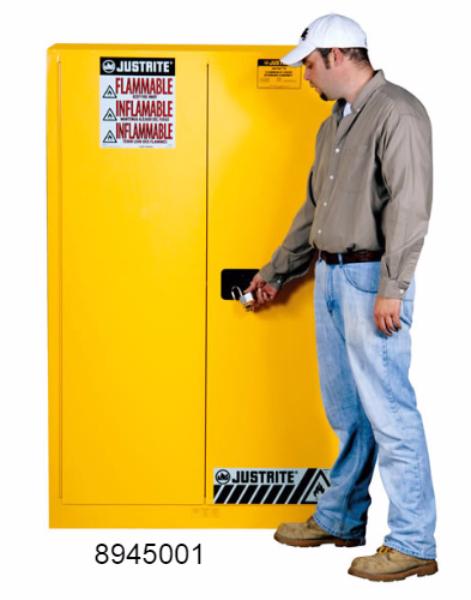 Sure Grip Ex Flammable Cabinet 2 Shelves